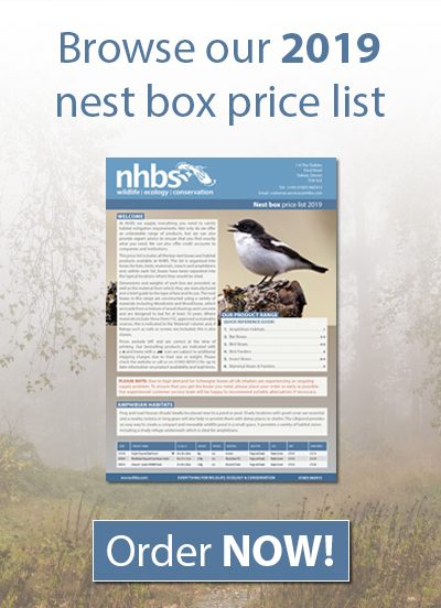 Nest Box Price List 2019