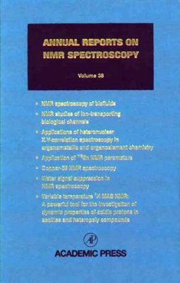 Annual Reports on NMR Spectroscopy, Volume 38
