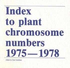 Index to Plant Chromosome Numbers, 1975-1978