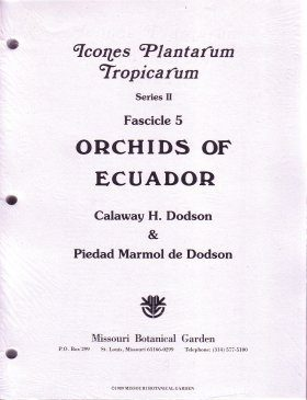 Fascicle 5: Orchids of Ecuador (Part 1)