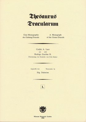 Thesaurus Dracularum: Fascicle 1