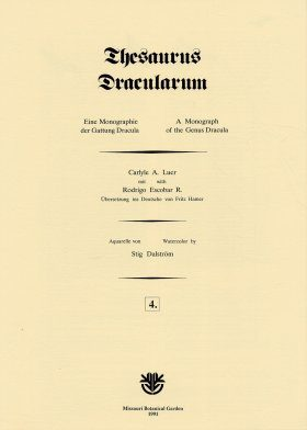 Thesaurus Dracularum: Fascicle 4