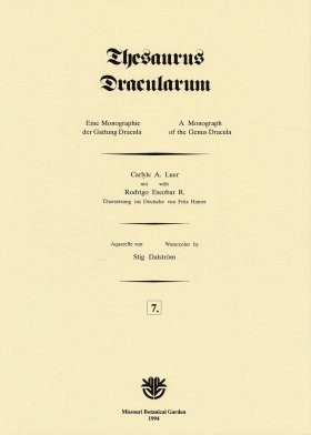 Thesaurus Dracularum: Fascicle 7