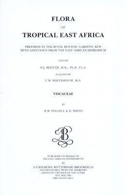 Flora of Tropical East Africa: Viscaceae