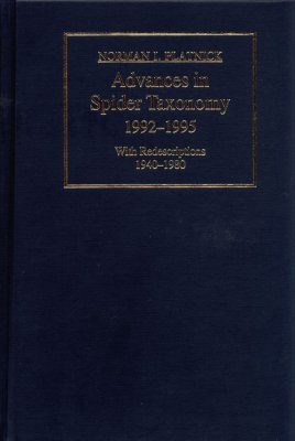 Advances in Spider Taxonomy 1992-1995