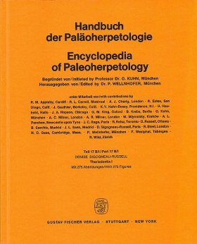 Encyclopedia of Paleoherpetology, Part 17B(I): Theriodontia I