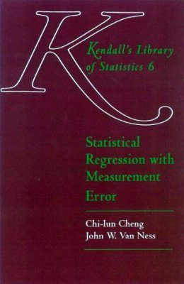 Statistical Regression with Measurement Error