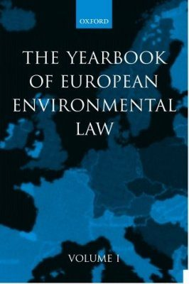 Yearbook of Environmental Law, Volume 1