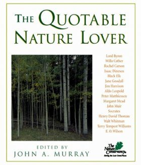 The Quotable Nature Lover