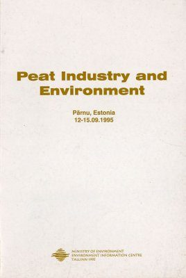 Peat Industry and Environment