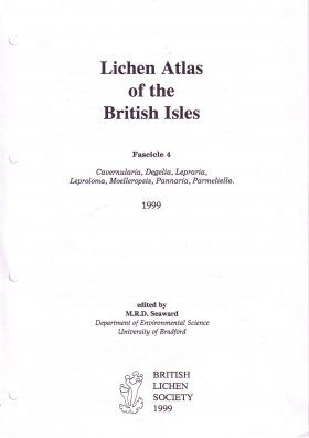 Lichen Atlas of the British Isles: Fascicle 4