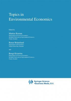 Topics in Environmental Economics