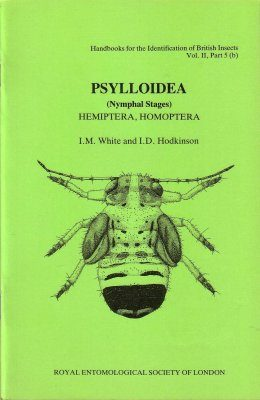 RES Handbook, Volume 2, Part 5b: Psylloidea (Nymphal Stages) - Hemiptera, Homoptera