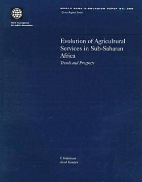 Evolution of Agricultural Services in Sub-Saharan Africa: Trends and Perspectives