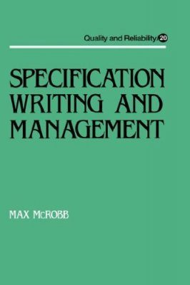 Specification Writing & Management