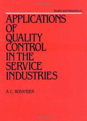 Applications of Quality Control to the Service Industry