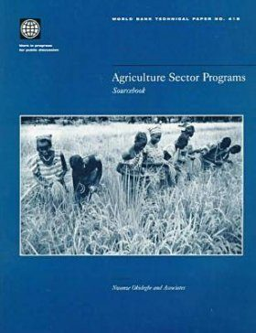 Agriculture Sector Programs: Sourcebook