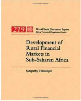 Development of Rural Financial Markets in Sub-Sahara Africa