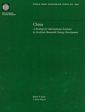 China: A Strategy for International Assistance to Accelerate Renewable Energy Development