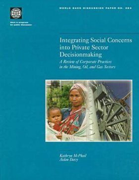 Integrating Social Concerns into Private Sector Decisionmaking: A Review