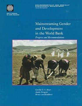 Mainstreaming Gender and Development in the World Bank: Progress and Rec ommendations