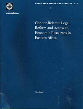Gender-Related Legal Reform and Access to Economic Resources in Eastern Africa: A Critical Evaluation
