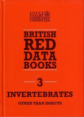 British Red Data Books 3: Invertebrates other than Insects