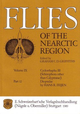 Flies of the Nearctic Region, Volume 9: Cyclorrapha III (Schizophora: other than Calyptratae), Part 12: Diopsidae