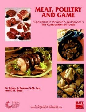 Composition of Foods: Supplement to 5th Edition - Meat, Poultry and Game