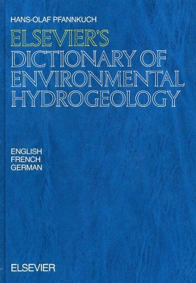 Elsevier's Dictionary of Environmental Hydrogeology