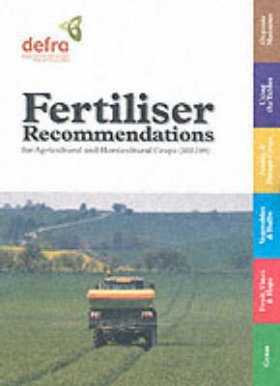 Fertiliser Recommendations for Agricultural and Horticultural Crops (RB209)