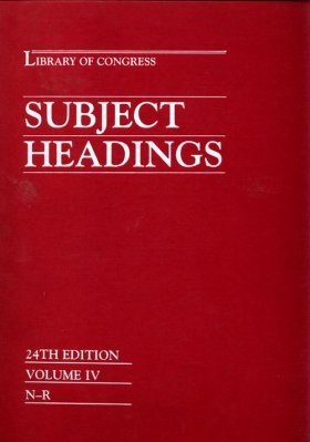 Library of Congress Subject Headings (5-Volume Set)