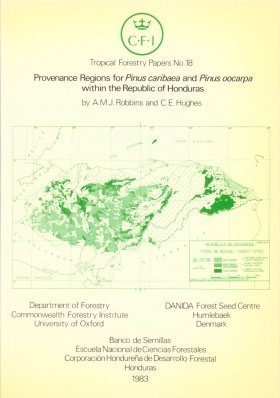 Provenance Regions for Pinus Caribaea and Pinus Oocarpa within the Republic of Honduras