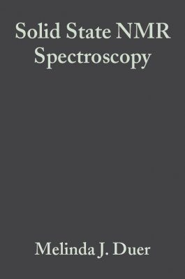 Solid State NMR Spectroscopy