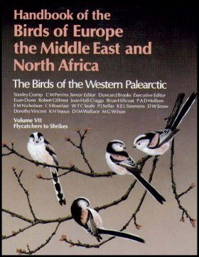 The Birds of the Western Palearctic, Volume 7