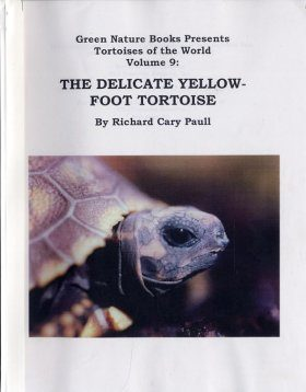 Tortoises of the World, Volume 9: The Delicate Yellow-Foot Tortoise