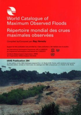 World Catalogue of Maximum Observed Floods