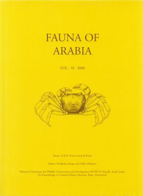 Fauna of Arabia, Volume 18