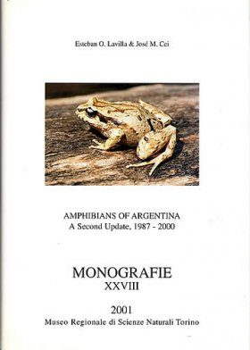 Amphibians of Argentina: A Second Update, 1987-2000