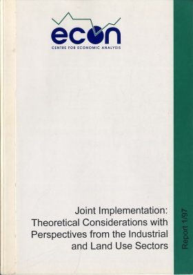 Joint Implementation: Theoretical Considerations with Perspectives from the Industrial and Land Use Sectors