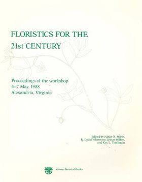 Floristics for the 21st Century