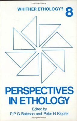 Perspectives in Ethology. Volume 8