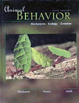 Animal Behaviour: Mechanisms, Ecology and Evolution