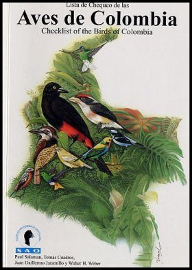 Checklist of the Birds of Colombia / Lista de Chequeo de las Aves de Colombia