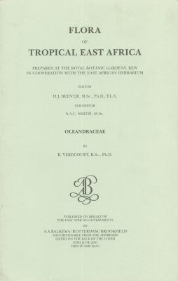 Flora of Tropical East Africa: Oleandraceae