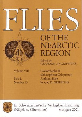 Flies of the Nearctic Region, Volume 8: Cyclorrapha II (Schizophora: Calyptratae), Part 2: Anthomyiidae, Number 13