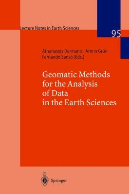 Geomatic Methods for the Analysis of Data in the Earth Sciences