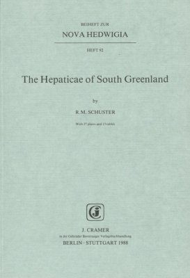 The Hepaticae of South Greenland