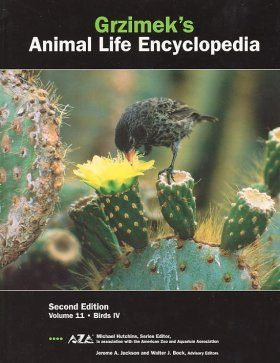 Grzimek's Animal Life Encyclopedia, Volume 11: Birds IV