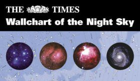 The Times Wallchart of the Night Sky